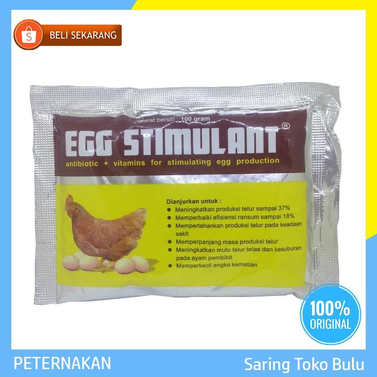 SERBUK VITAMIN DAN ANTIBIOTIK AYAM PETELUR EGG STIMULANT 250 GR | Shopee Indonesia