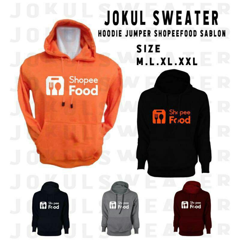 Jaket Hoodie Sweater Shope Food Custome