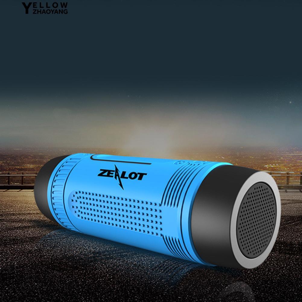Aksesoris Gadget:T2 Speaker Wireless Bluetooth Portable Outdoor Anti Air dengan Senter untuk Cycling | Shopee Indonesia