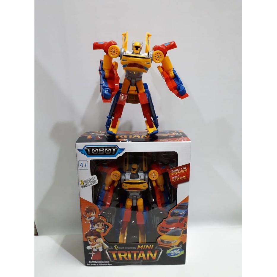 Mainan Anak Tobot Tritan Po0990