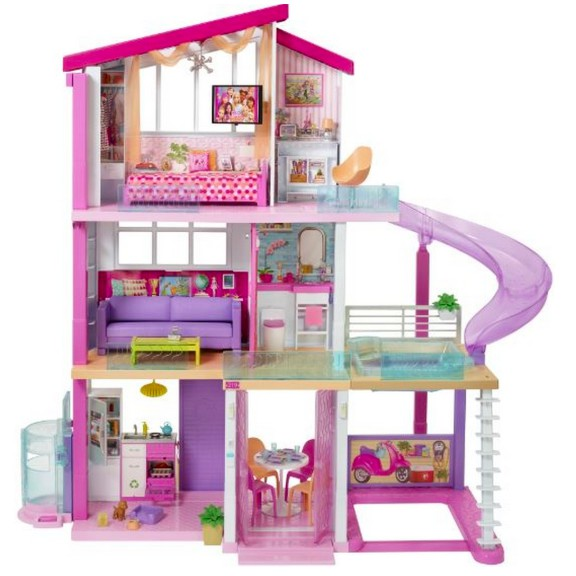 Barbie Dream House Mainan Rumah Boneka Barbie Dream House Shopee Indonesia
