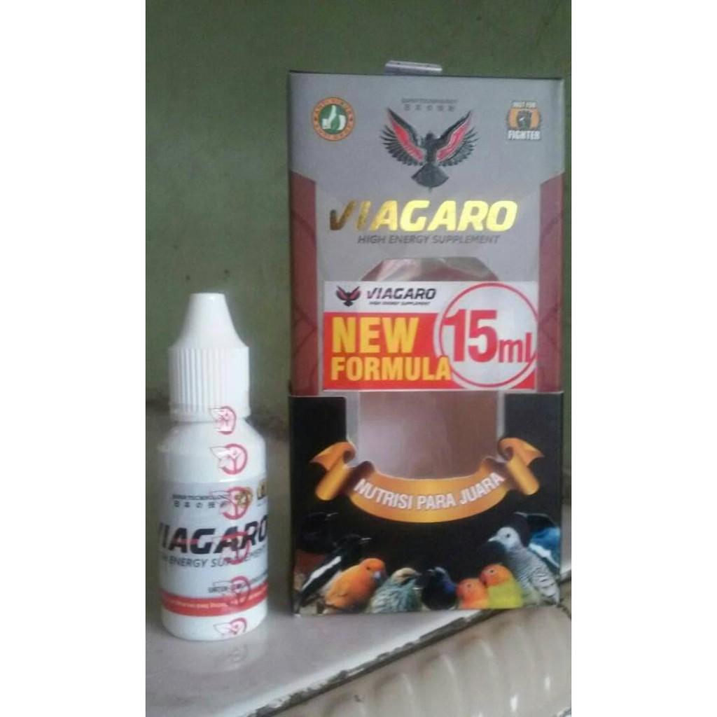 Viagaro New Formula Suplemen Burung Lomba Alami Shopee Indonesia