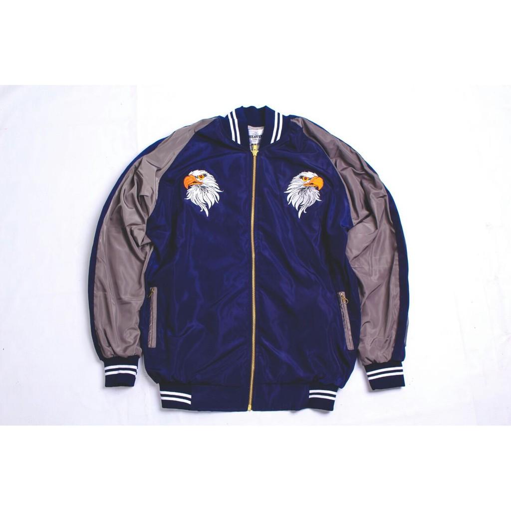 Jaket Sukajan Jepang Eagle Kualitas Premium Shopee Indonesia