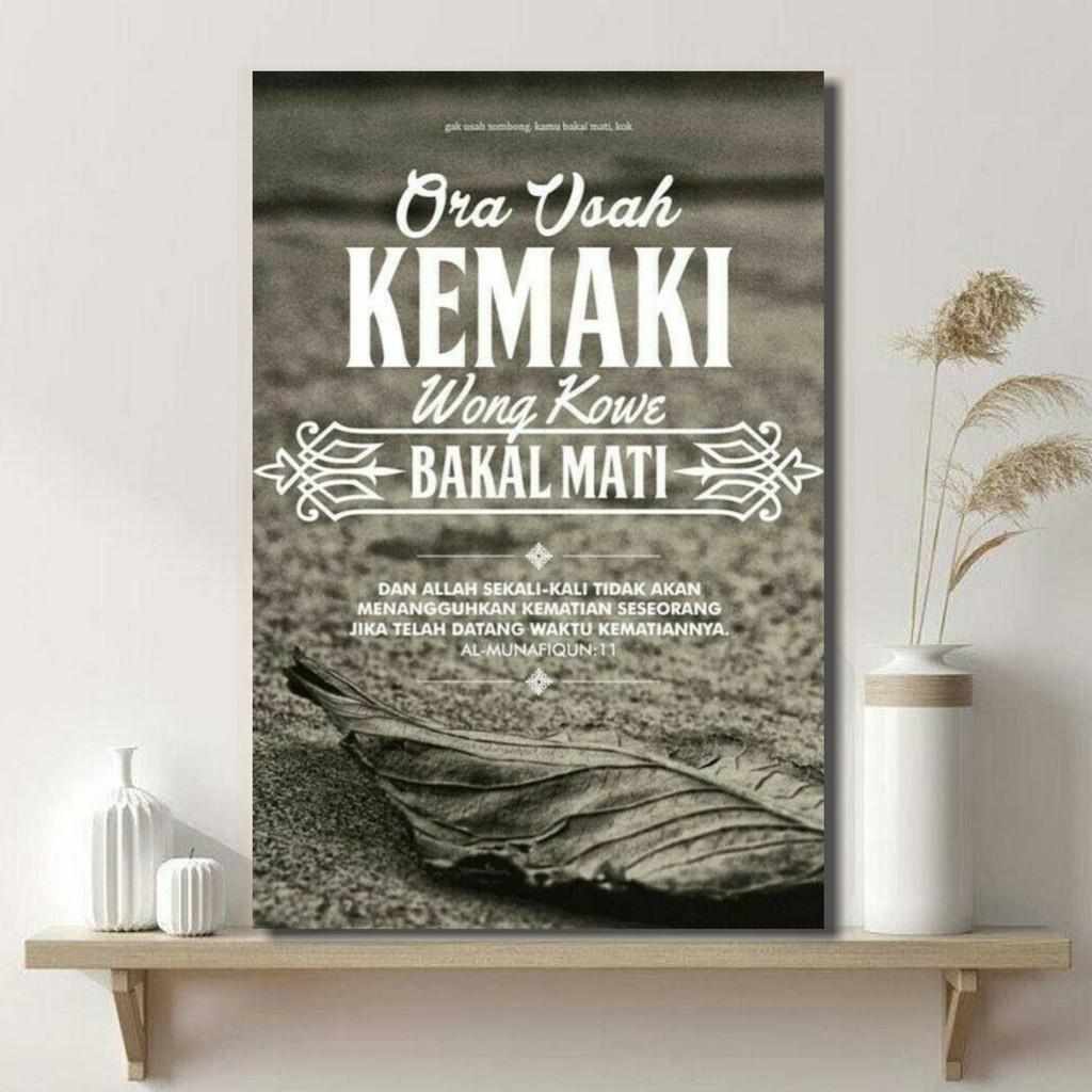 Hiasan Dinding Kamar Tidur Islami Shopee Indonesia