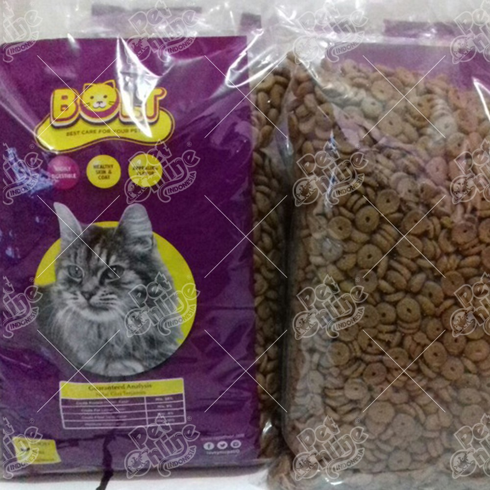 Makanan Kucing Bolt Tuna Donat 20kg Shopee Indonesia
