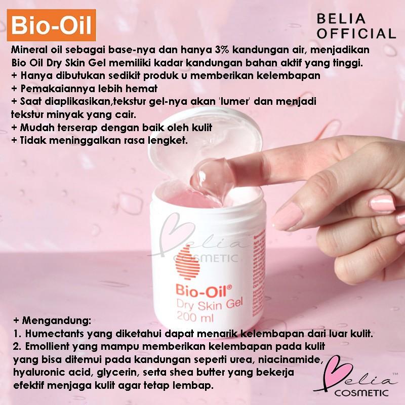 Belia Bio Oil Gel Bpom Penghilang Bekas Luka Anti Scar Stretchmark Selulit Biooil Shopee Indonesia