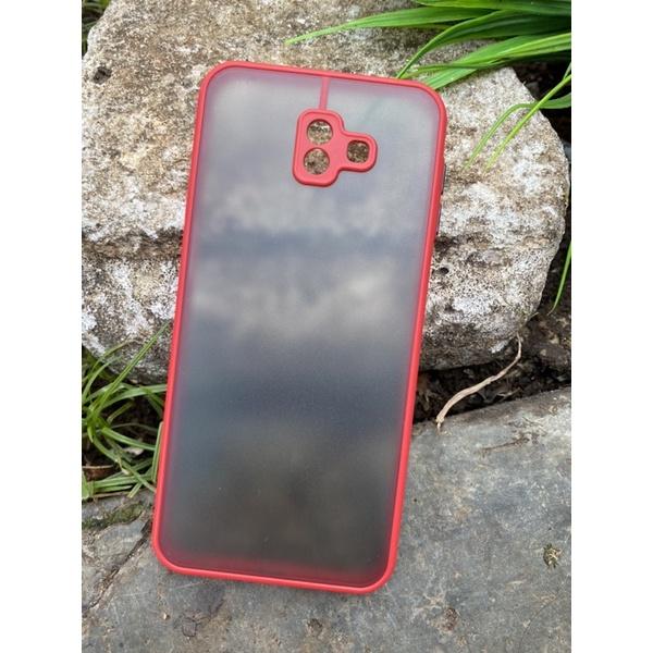 Case bumper Samsung J6plus / j6prime / j6 plus polos warna Dove