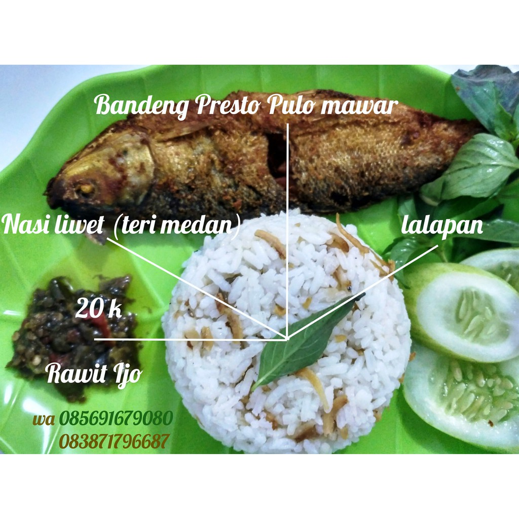 BANDUNG | 2 PACK Bandeng Presto Fresh 5 EKOR/PACK | STYROFOAM BOX | JNE YES | Shopee Indonesia