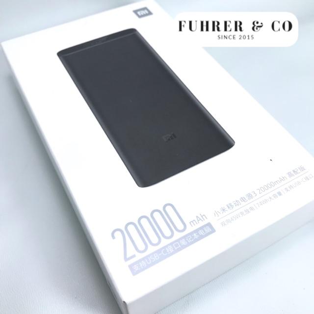 Powerbank Xiaomi 3 Pro 20000 Mah 45W QC 3.0 USB Type C Huawei P30 PRO