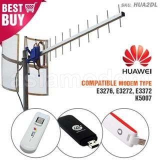 Antena Yagi TXR185 Huawei E3276 E3272 E3372 K5007 Penguat Sinyal Modem 2G 3G 4G Dual Pigtail