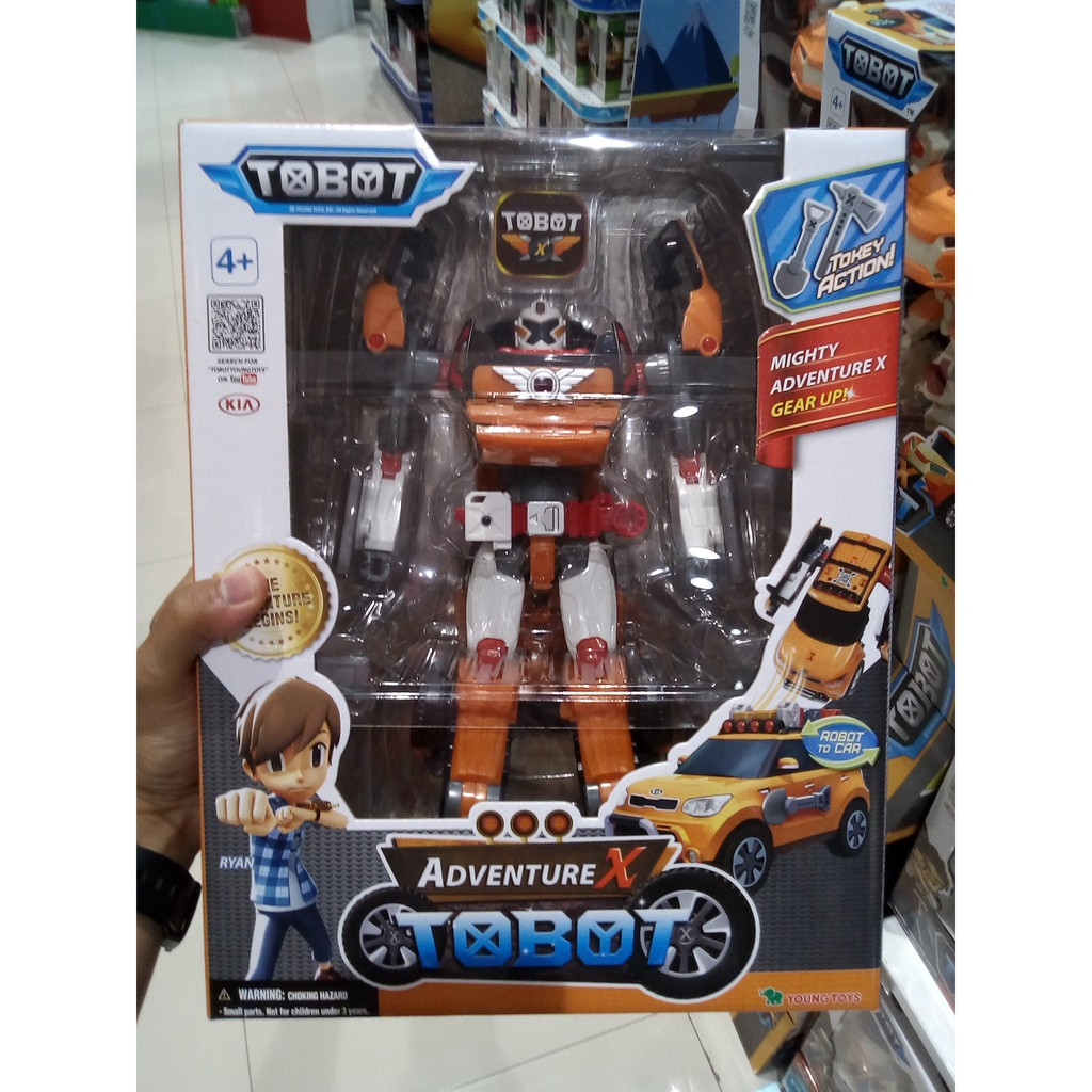 Mainan Tobot Z Original Mini Young Toys Shopee Indonesia Transformer Jam Tangan Robot Anak