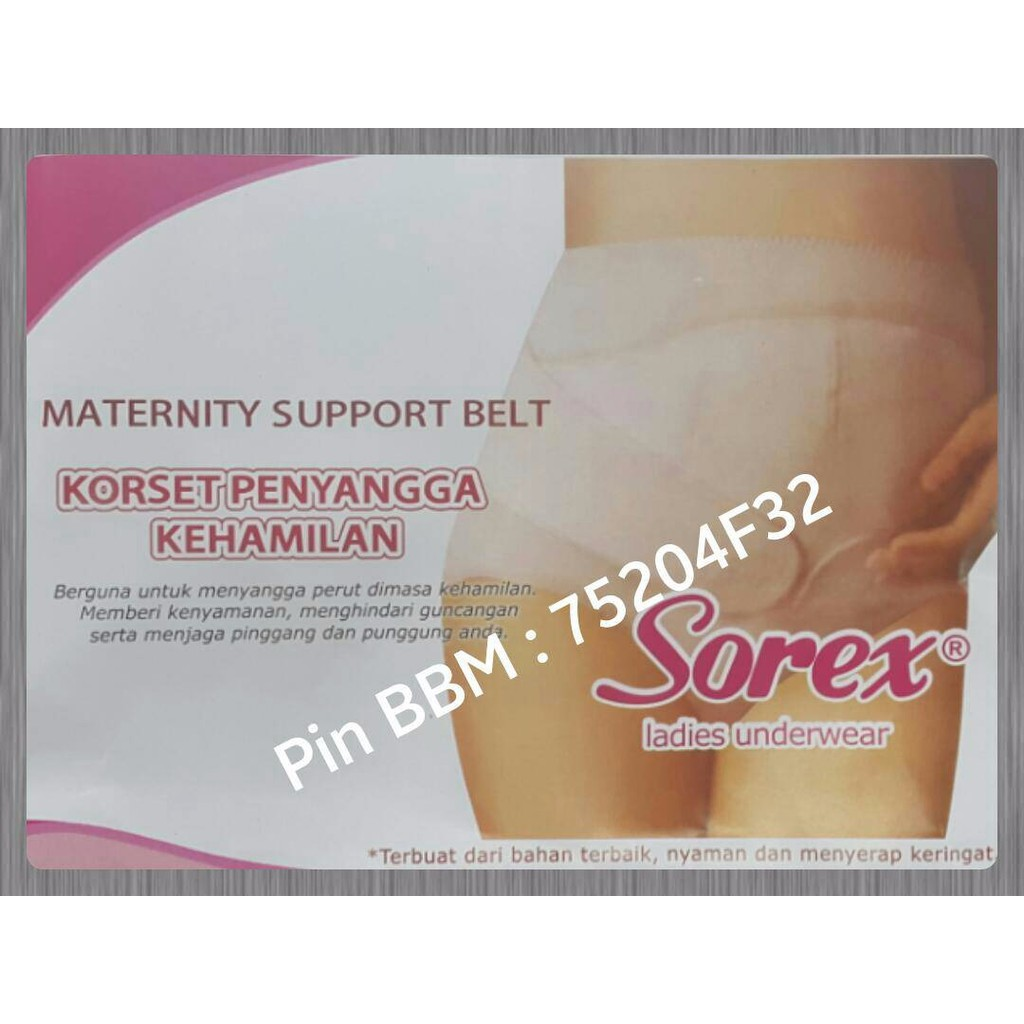 Korset Stagen Penyangga Kehamilan Ibu Hamil Maternity Support Perut Sorex Belt Original Shopee Indonesia