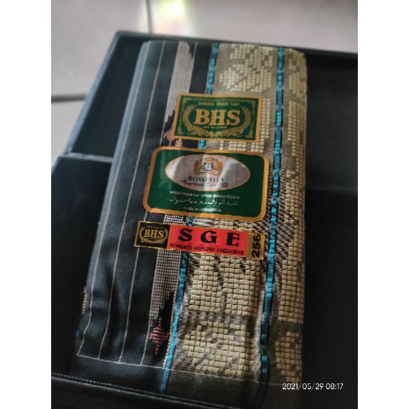 BHS SGE full Sutra spunsilk 210 Gold Quallity Hitam Langka
