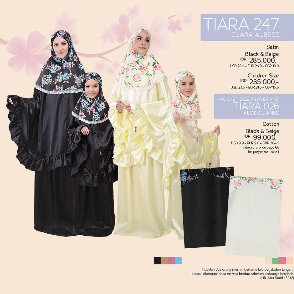 Mukena Tatuis Shiva 050 Shopee Indonesia Tiara 312 Broken White