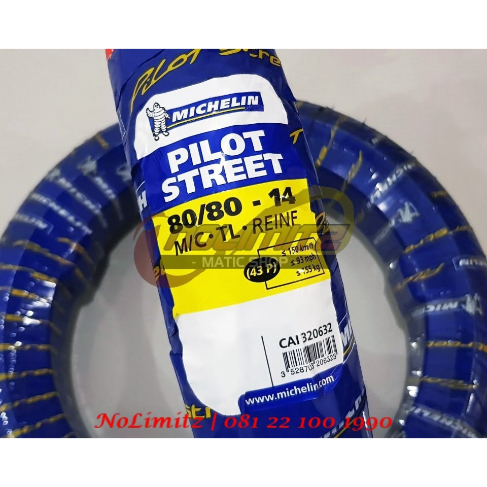 Ban Motor Tubeless Michelin Pilot Street 80 14 Vario Beat Motogp 90 Matic Scoopy Shopee Indonesia