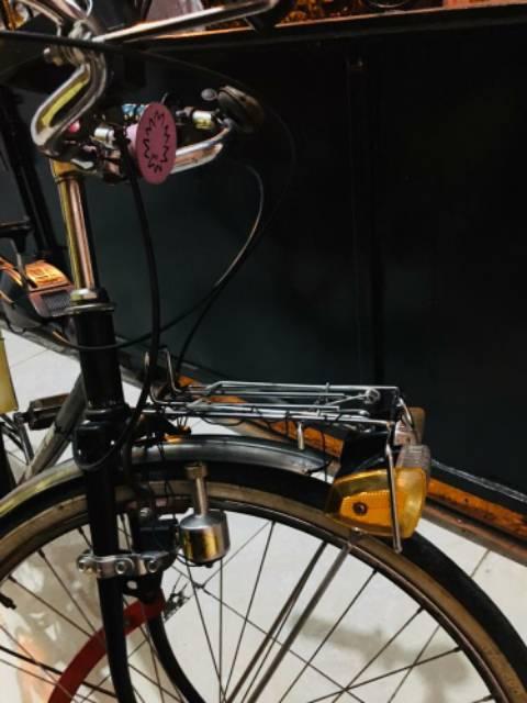 Rak Sepeda Depan Sepeda Mini Sepeda Robot Vintage Jadul 16 20 24 26 27 Inch 700c Chrome Rak Depan Shopee Indonesia