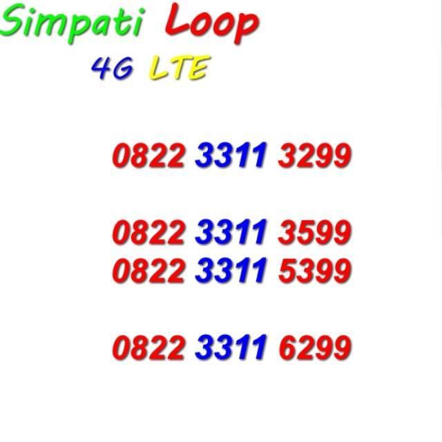 Simpati Loop Nomor Cantik Telkomsel ...