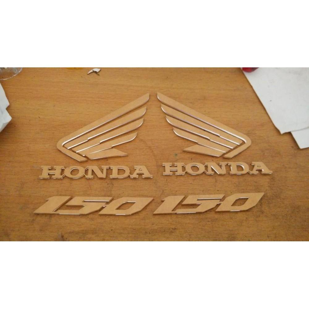 Sticker Stiker Striping Cap Tambahan Perhatian Gigi4 Rantai Panduan Pelengkap Astrea 800 Honda Star Prima Grand Shopee Indonesia