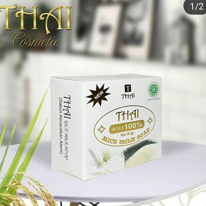 Original Sabun Beras Thai Rice Milk Soap 50 Gr Asli 100 Shopee Indonesia