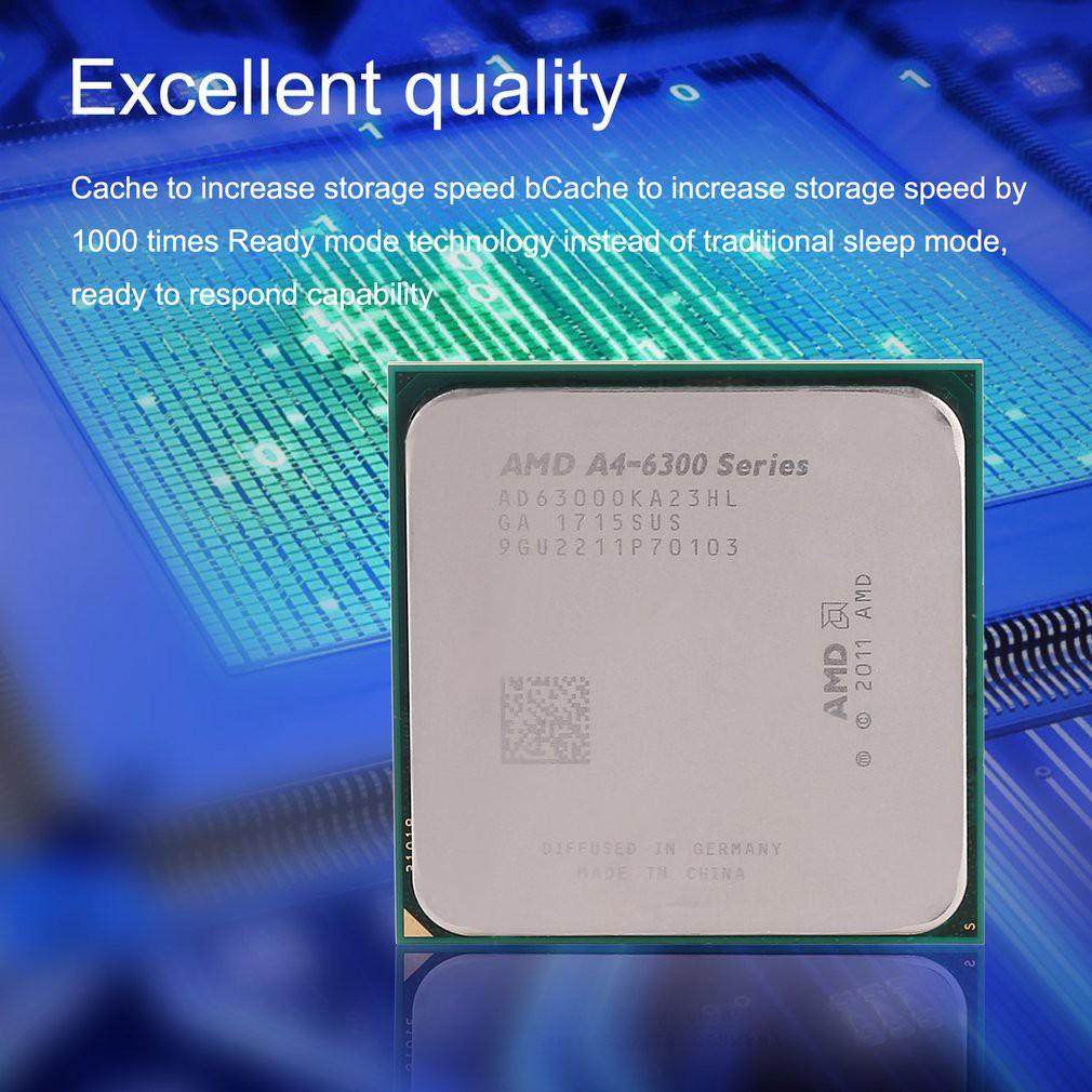 Amd A4 6300 Dual Core Cpu Processor 37ghz 2 Thread 1 Mb Cache Pasta Pendingin Socket Fm2 Shopee Indonesia