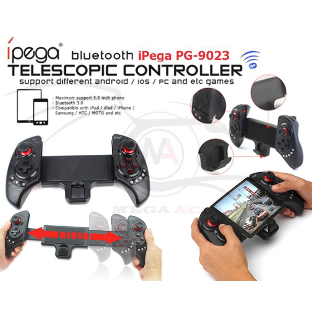 Ipega Pg 9021 Wireless Gaming Controller Android Ios Shopee Indonesia Stick Mobile