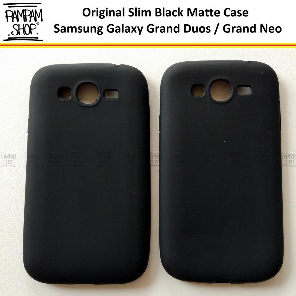CASING SLIM BLACK MATE SAMSUNG GRAND 2 7102 7106 BABY SKIN SOFT CASE ANTI OIL | Shopee Indonesia
