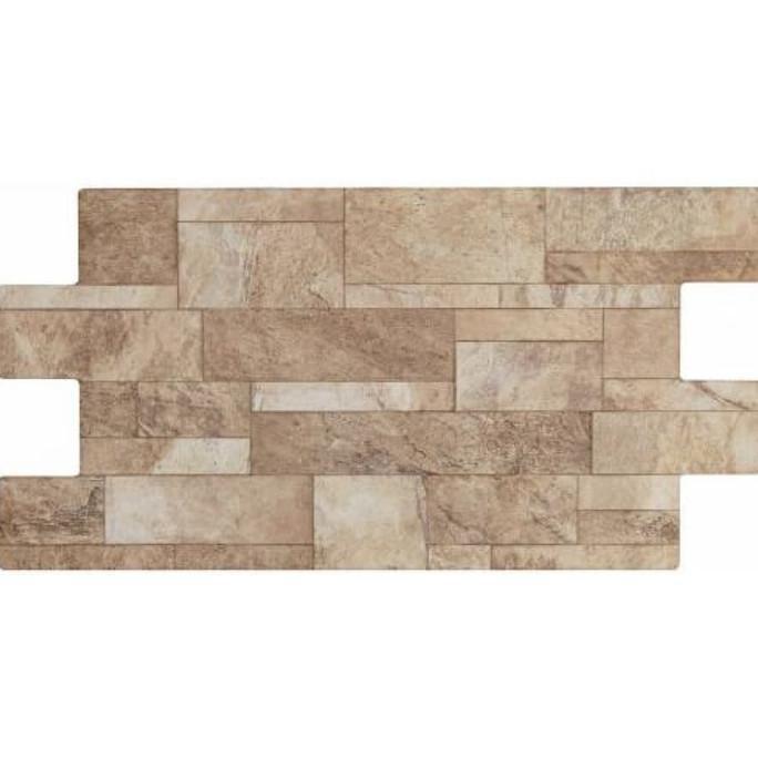 Keramik Dinding Batu Alam Interlock Roman dQuarry Ukuran 30x60
