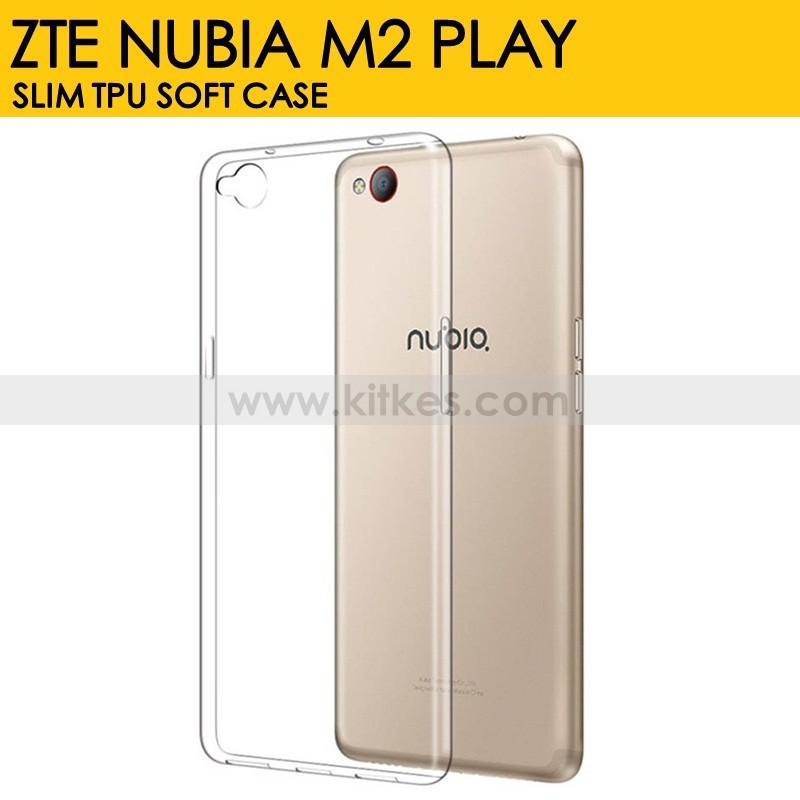los angeles 8f6f0 db52e Slim TPU Soft Case ZTE Nubia M2 Play