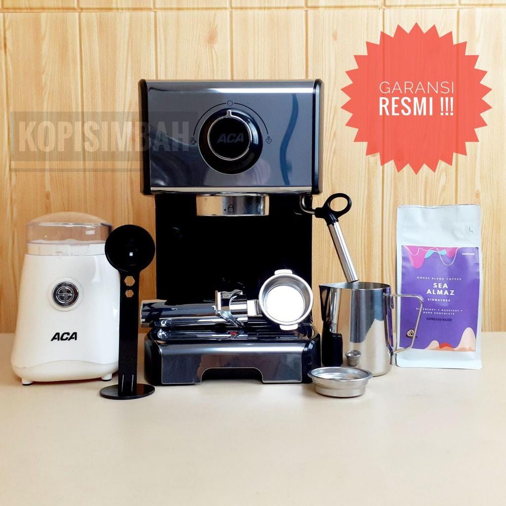 Espresso Maker ACA Mesin Kopi BOXR Cappuccino Latte Art