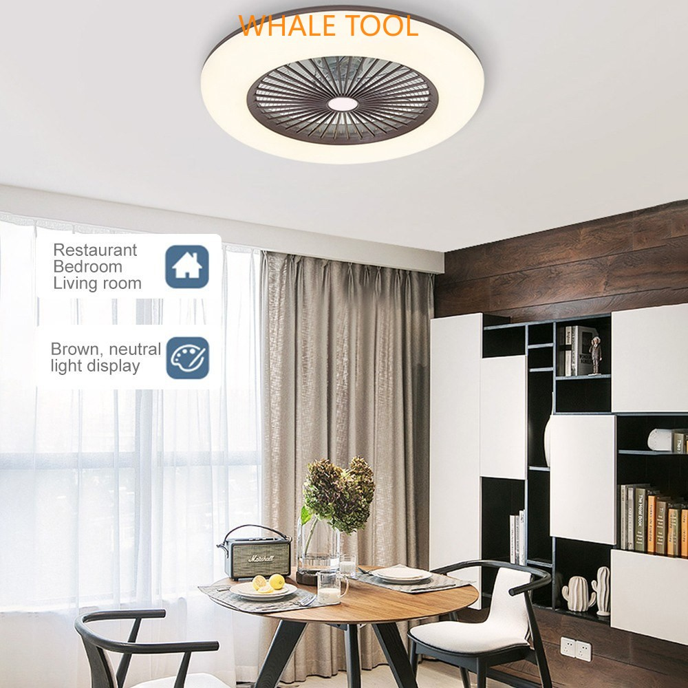 Ceiling Fan Dengan Pencahayaan Led Light Adjustable Kecepatan Angin Dimmable Dengan Remote Control Tanpa Baterai 36w Yang Modern Led Ceiling Light Untuk Review Bedroom Living Room Dining Room Shopee Indonesia