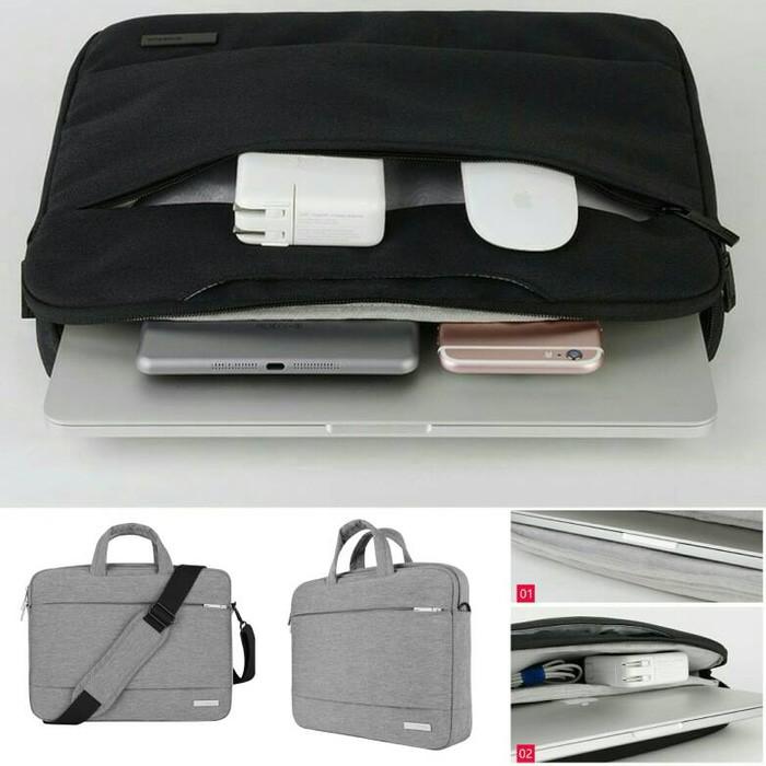 Tas Laptop Waterproof Asus , Acer, Dell , Macbook air , 14 - 15 inchT