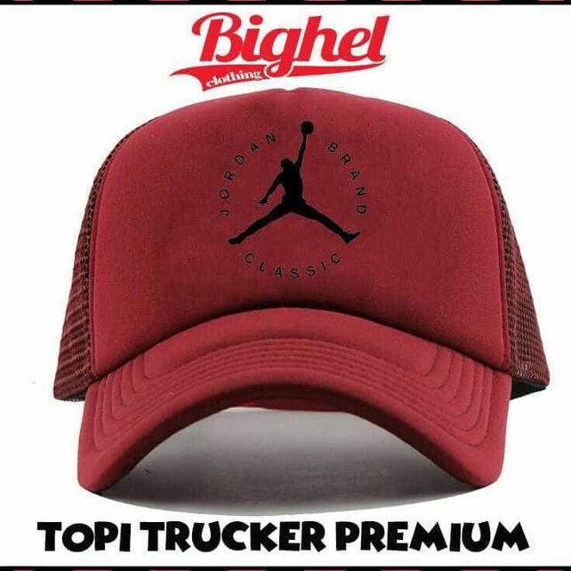 Gaya Topi Trucker Jordan Brand Classic B6 - Ls Best  e1b6f7dfd5