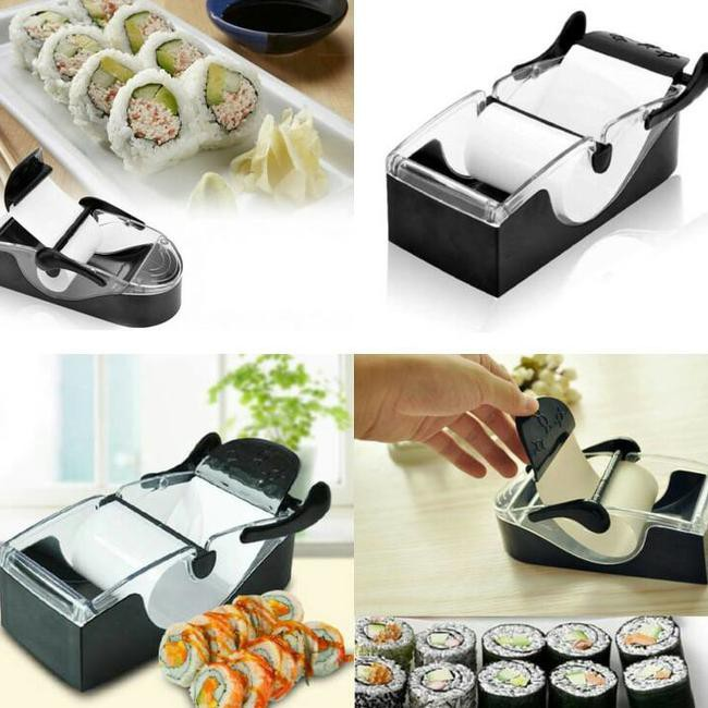Gogo Perfect Roll Sushi Maker - Alat Pembuat Sushi - Hitam | Shopee Indonesia