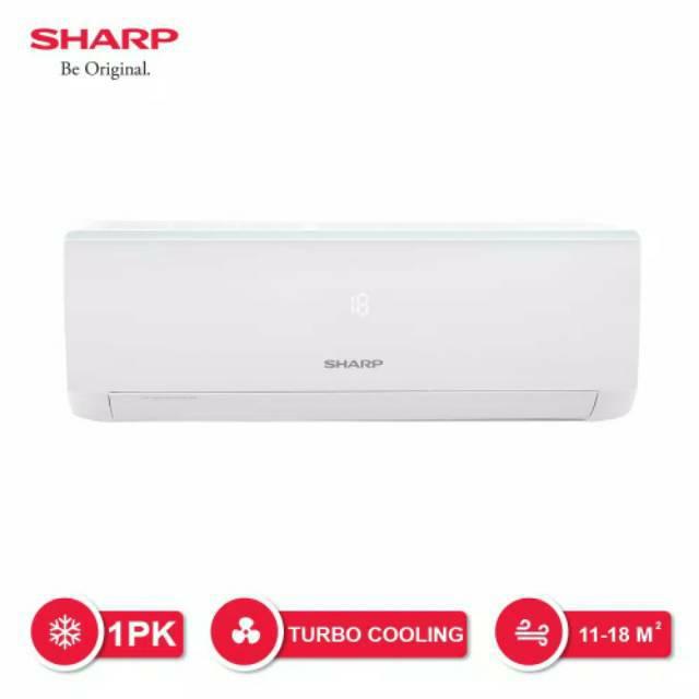 SHARP AC SHARP 1/2 PK A5UCY R32 + PASANG/INSTALASI