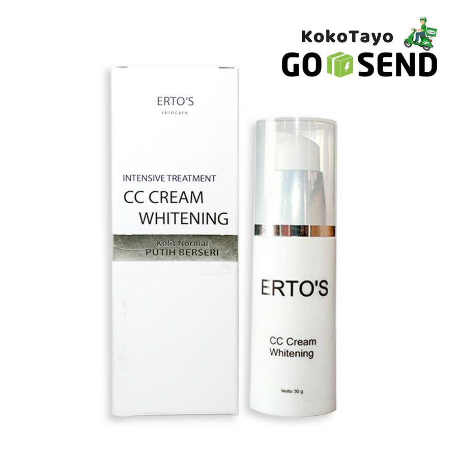 Ertos Night Cream Krim Malam Pemutih Wajah Original Bpom Perawatan Shopee Indonesia