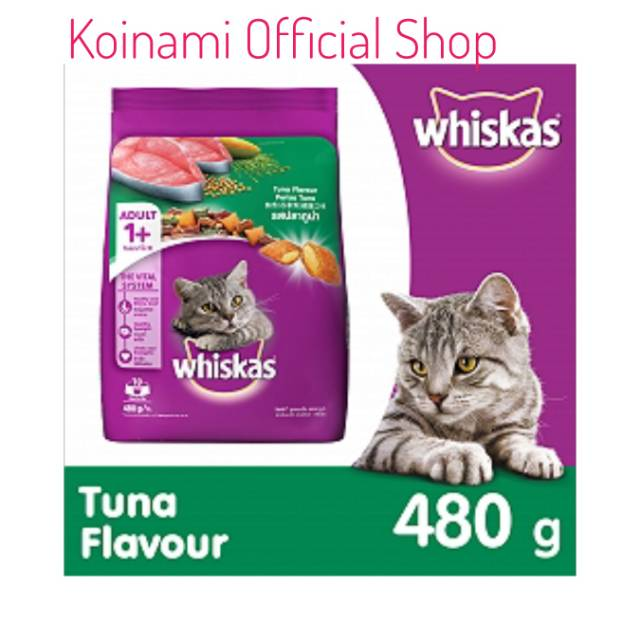 PAKET HEMAT WHISKAS ADULT 1KG - TUNA - MAKANAN KUCING DEWASA - CAT FOOD !! | Shopee Indonesia