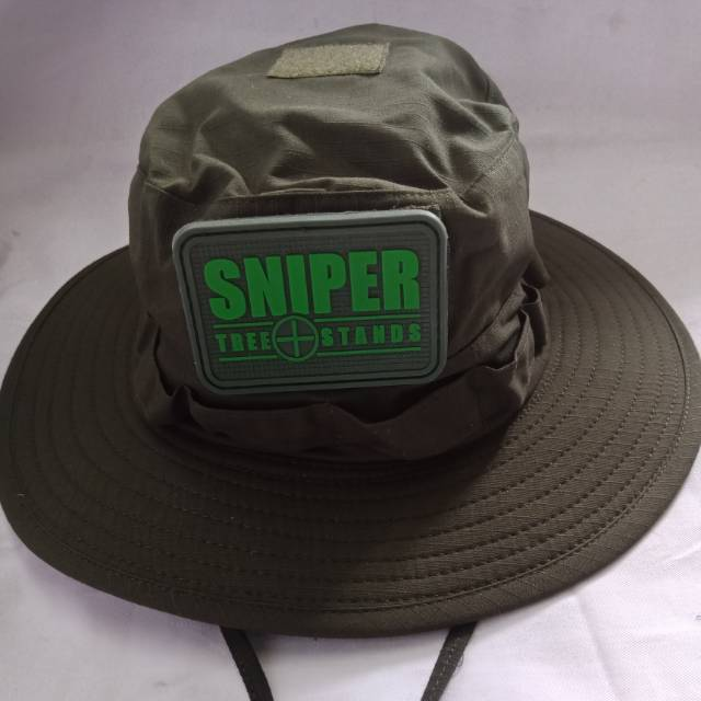 topi rimba jungle hat tactical green army hijau tni  b095c317ed
