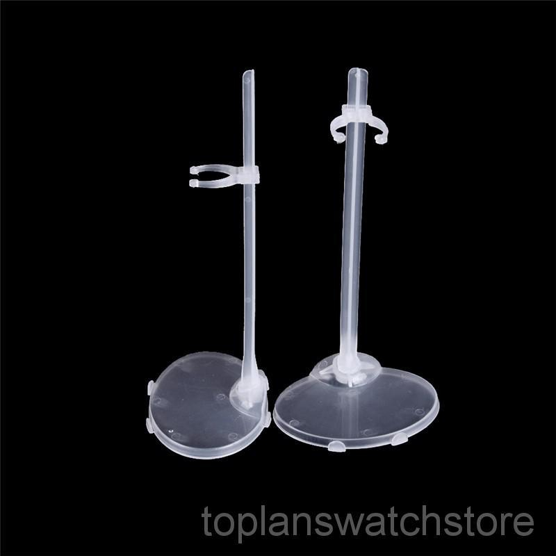 1//6  plastic fashion clear Doll Stand Display Holder For   Dolls support leg
