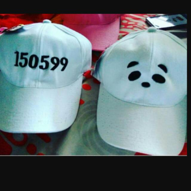 bordir topi gambar atau nama topi custom request bordir satuan ... d29e750601