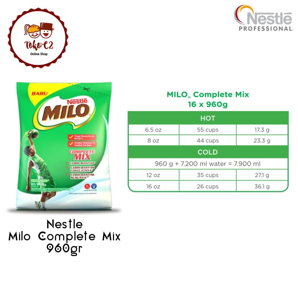 Minuman Nestle Daftar Harga November 2018 Nestum Bubur Sereal Multigrain 3in1 Polybag 4 X 32g Susu Pisang 12500 Milo Complete Mix 960gr