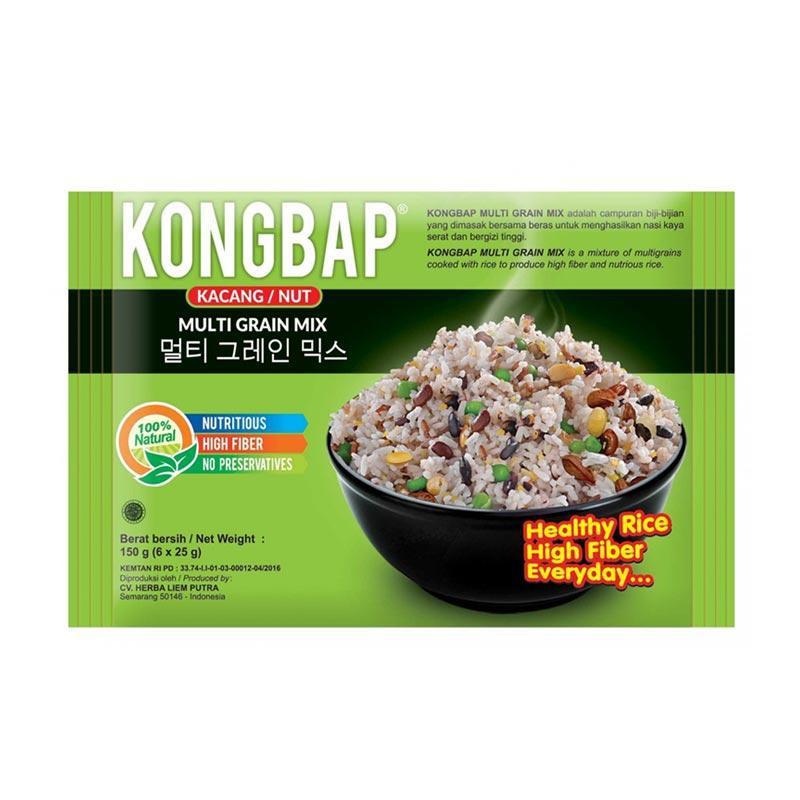 KONGBAP Nut Multi Grain Mix Makanan Organik - Hijau - 1 Pack | Shopee Indonesia
