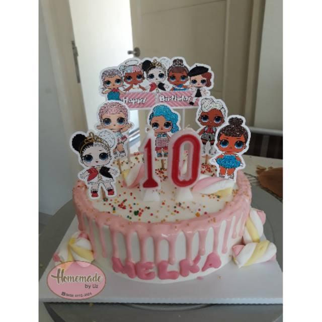 Kue ulang tahun LOL Cikarang