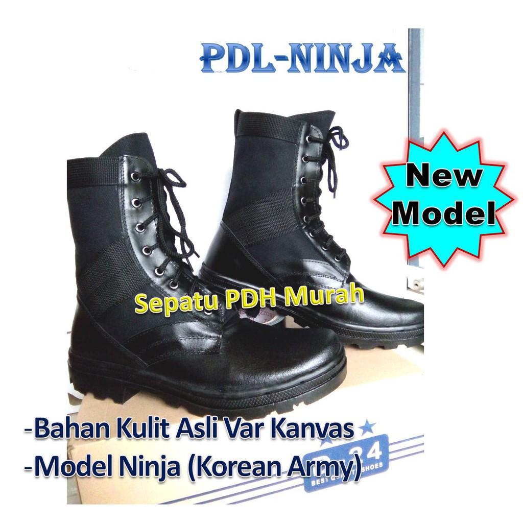 Up To 39 Discount Sepatu Pdh Murah Pdl Tni Polri Security Ter Kulit Seri Ninja 01 Standar Pol