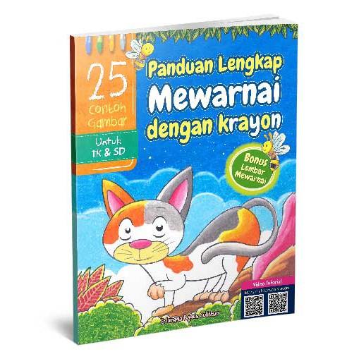Panduan Lengkap Menggambar Dan Mewarnai Dengan Krayon Shopee Indonesia