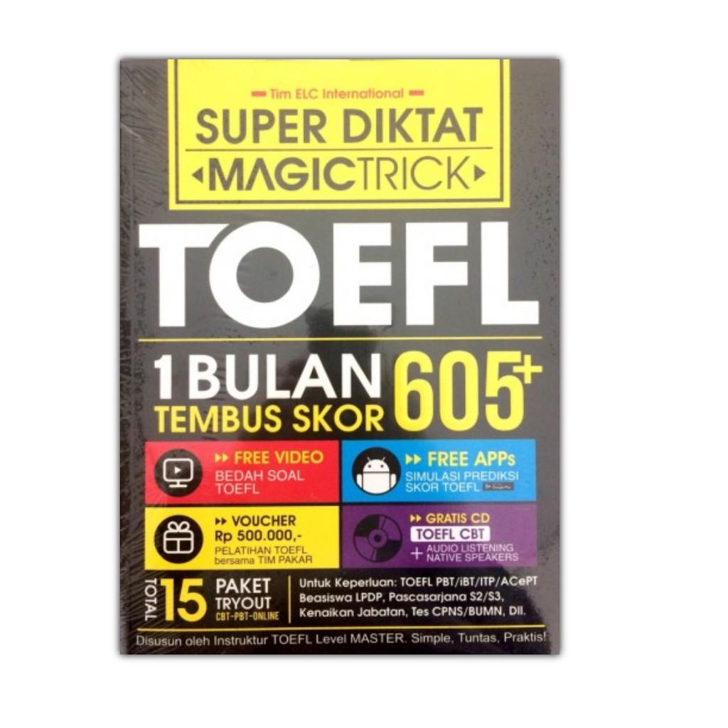 The King Toefl Terlengkap Free Cd Shopee Indonesia Ready Stock Quipper Voucher Sma Atau Smp 1 Bulan
