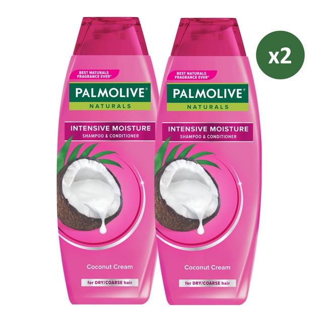 Palmolive Naturals Shampoo & Conditioner Intensive Moisture 180ml - Shampo Kondisioner (2pcs)-1