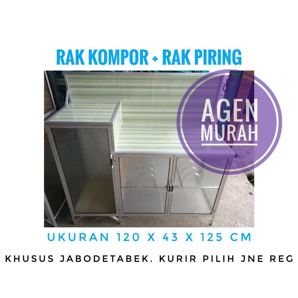 Rak Kompor Undak Alumunium Shopee Indonesia Hb267 Dinding Dapur Aluminium