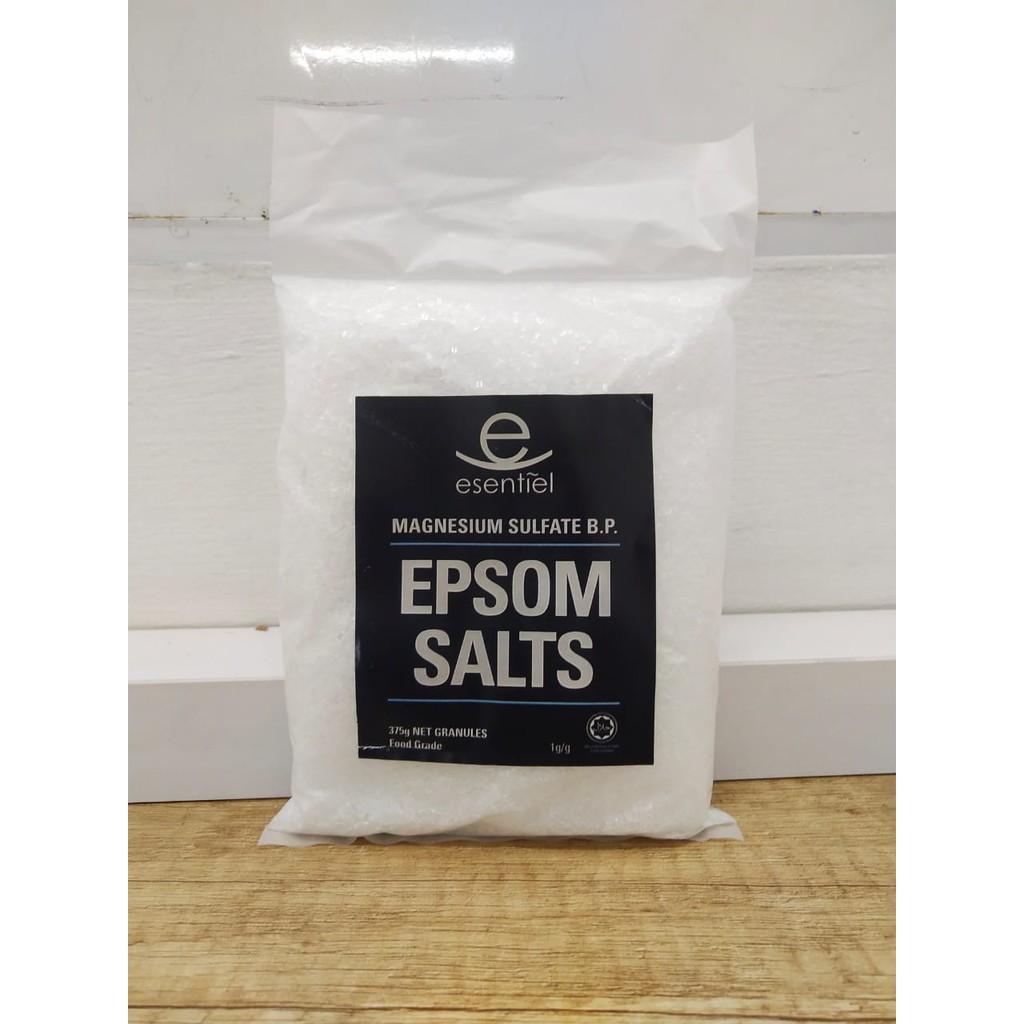 Epsom Salt 375g Food Grade Shopee Indonesia