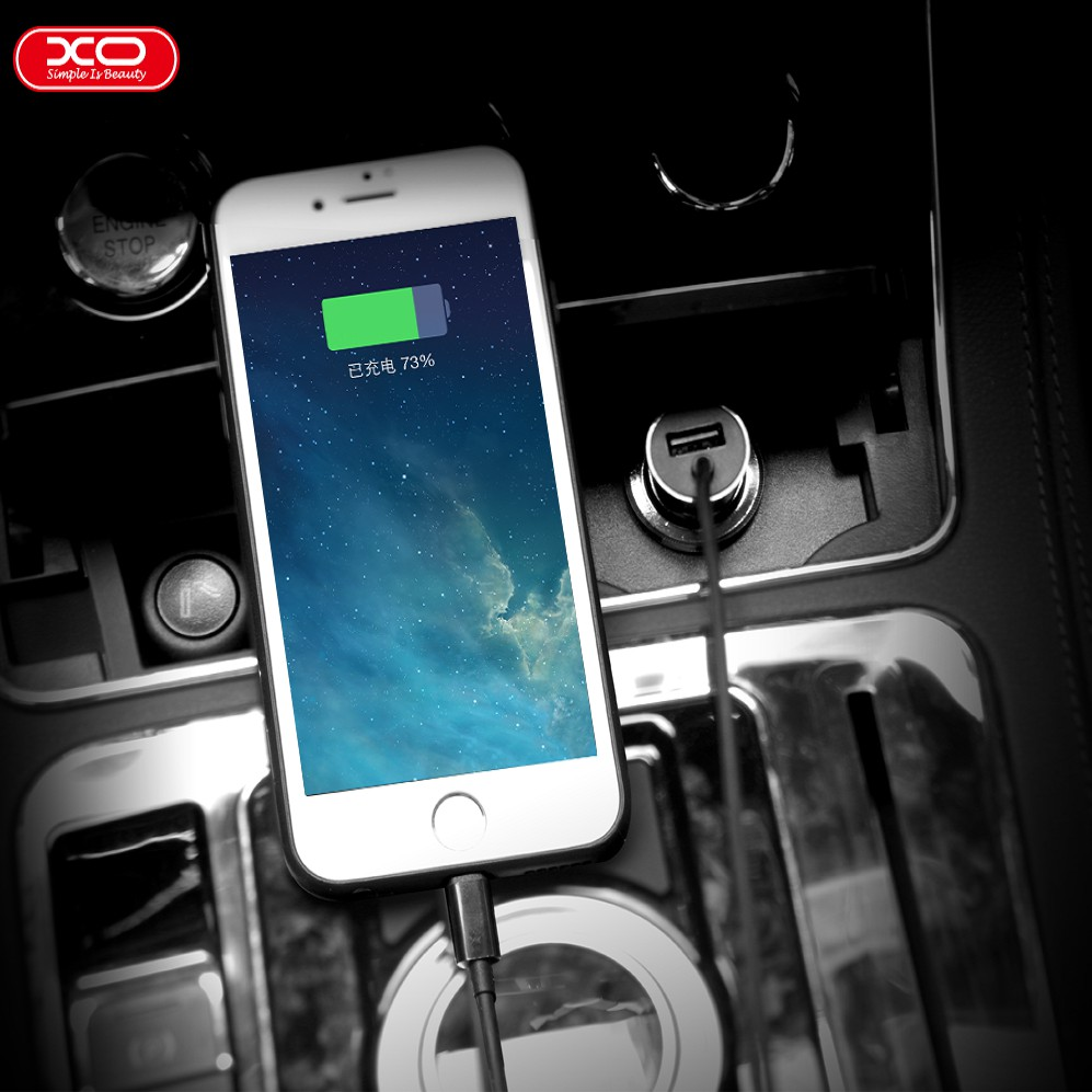 Xo Cc05 Car Charger Double Usb 24a Port Original Hitam Shopee Orico Ucl 2u Dual Untuk Handphone Indonesia