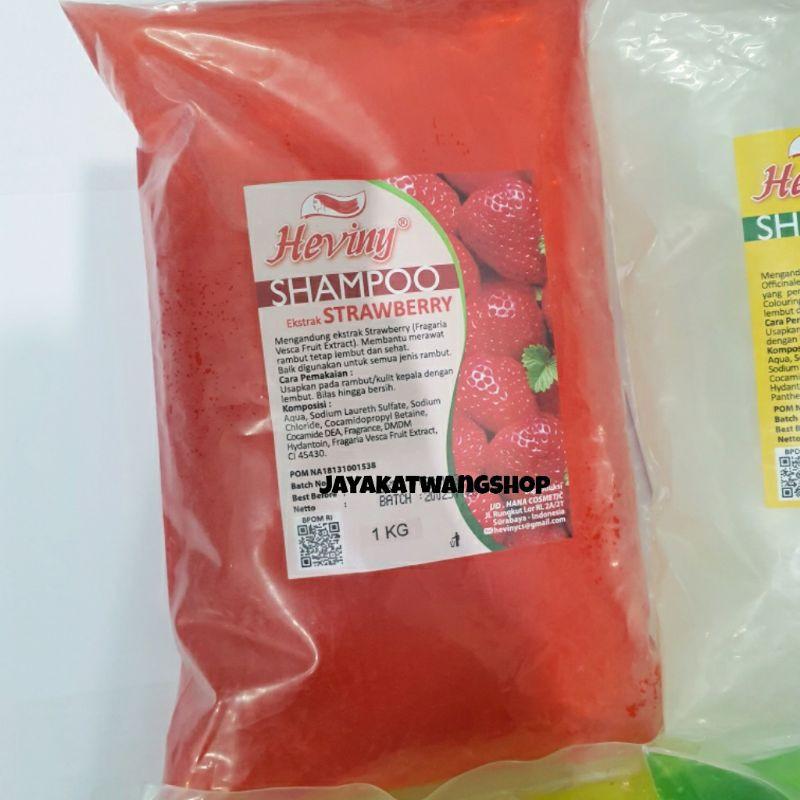 HEVINY Shampoo Refill 1000 ML / 1 KG-Strawberry